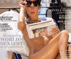Alessandra Ambrosio nuda sulla copertina di Maxim