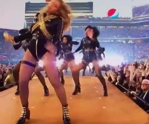 Beyoncé rischia di cadere al Super Bowl: troppo curvy forse
