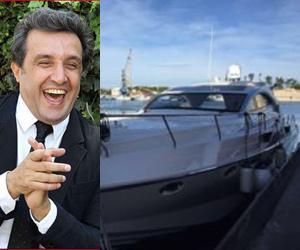 Flavio Insinna dal cuore d'oro: la sua barca in dono ai migranti