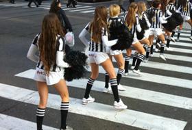 zebre cheerleader