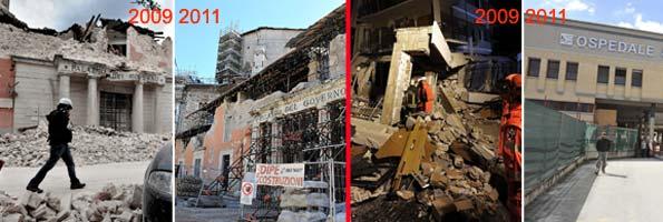 aquila terremoto due anni dopo