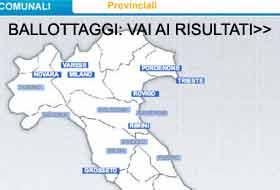 risultati elezioni amministrative cartina
