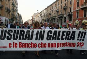 Пока Неаполь стоит на первом месте по риску ростовщических сделок