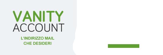 Crea un indirizzo Email personale con i domini Vanity Account!